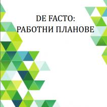 De Facto Blueprint BG
